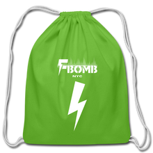 Load image into Gallery viewer, F-BOMB Cotton Drawstring Bag - clover