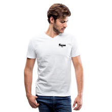 Load image into Gallery viewer, F-BOMB V-Neck T-Shirt - white
