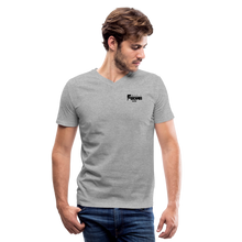 Load image into Gallery viewer, F-BOMB V-Neck T-Shirt - heather gray