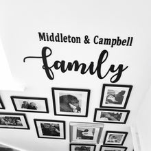 Load image into Gallery viewer, Large Family Wall Plaque