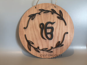 3D Ek Onkar hanging plaque