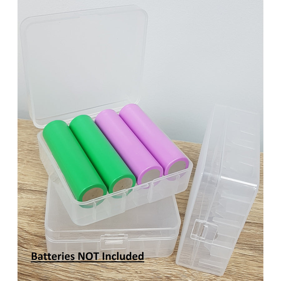 18650/26650 4/2 Bay Battery Case