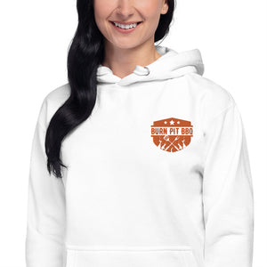 Burn Pit BBQ Embroidered Hoodie