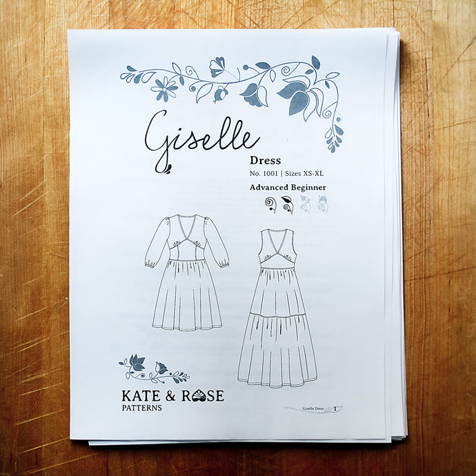 Your makes: Giselle and Mariska - and a giveaway!