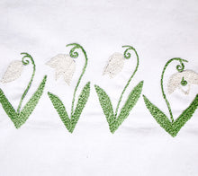 Load image into Gallery viewer, Snowdrop PDF Embroidery Pattern - Printable Series