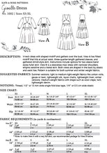 Load image into Gallery viewer, Giselle Dress Sewing Pattern