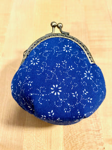 Hungarian Blue-Dye Kékfestő Cloth Coin Purse