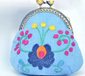 Ibolyka Coin Purse PDF Sewing Pattern