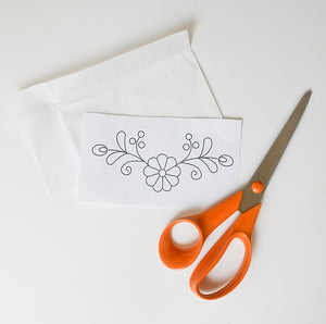 Little Berry Burst Embroidery Pattern