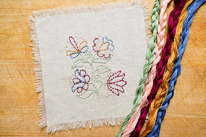 Bewitching Botanicals Embroidery Pattern