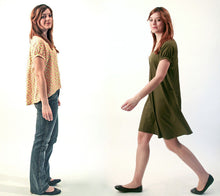 Load image into Gallery viewer, Róza Blouse & Dress Sewing Pattern