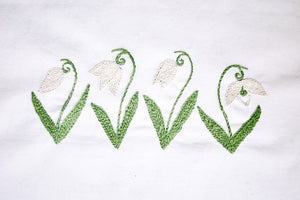 Snowdrop PDF Embroidery Pattern - Printable Series