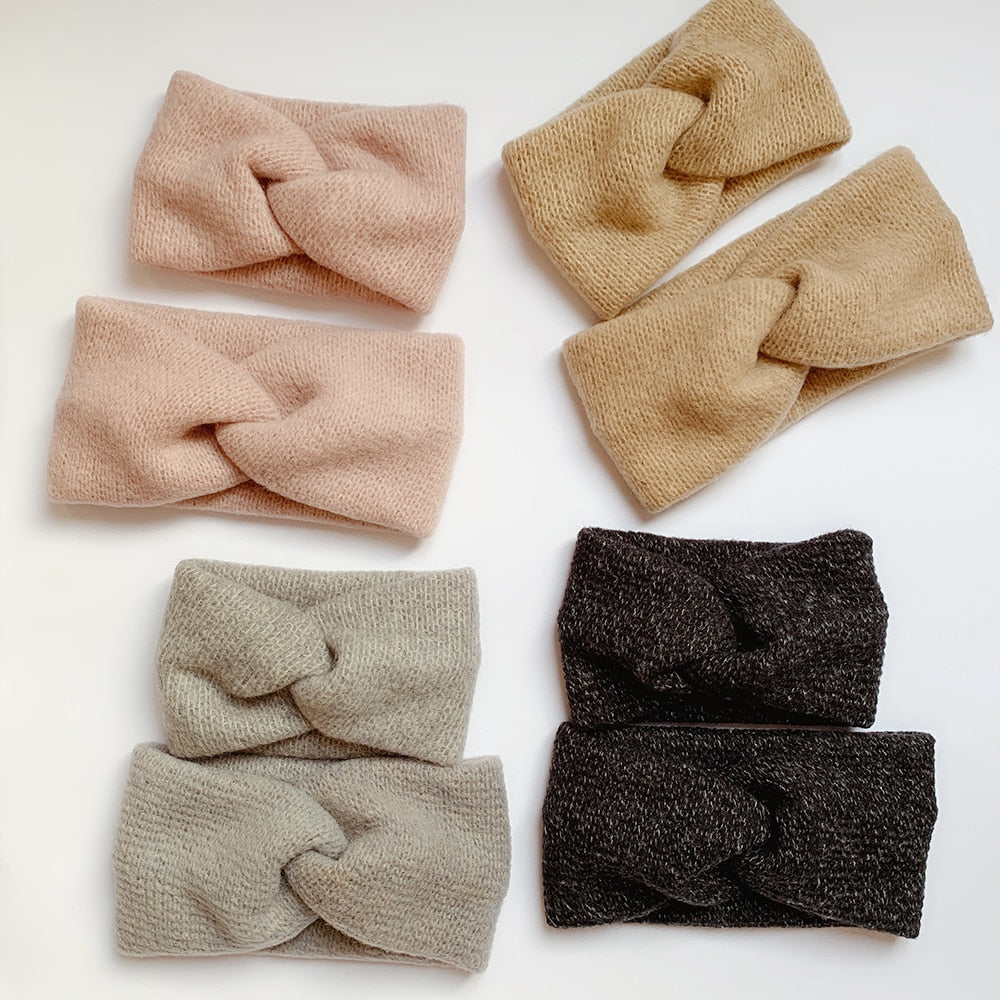 Mommy and Me Wool Headbands