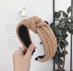 Winter Knitted Headband Women