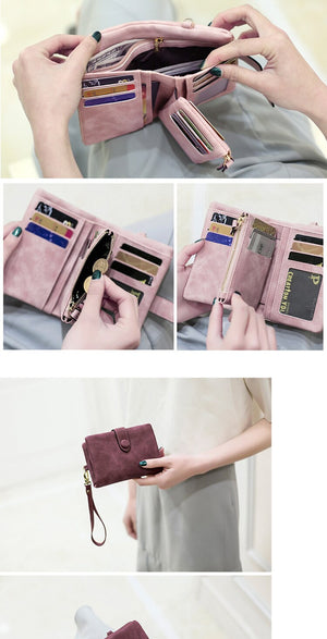 Matte Leather Wallet
