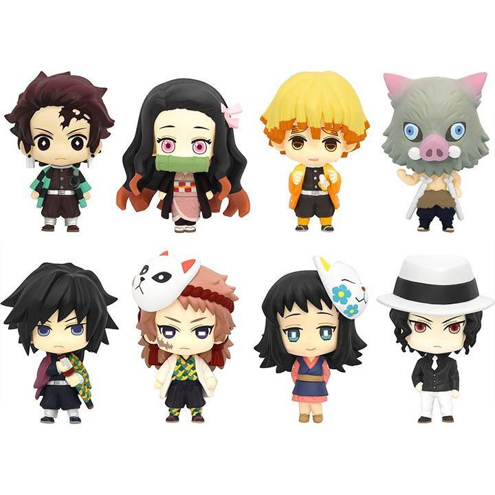 Demon Slayer Colourful Collection (Color-Cole) Gachapon