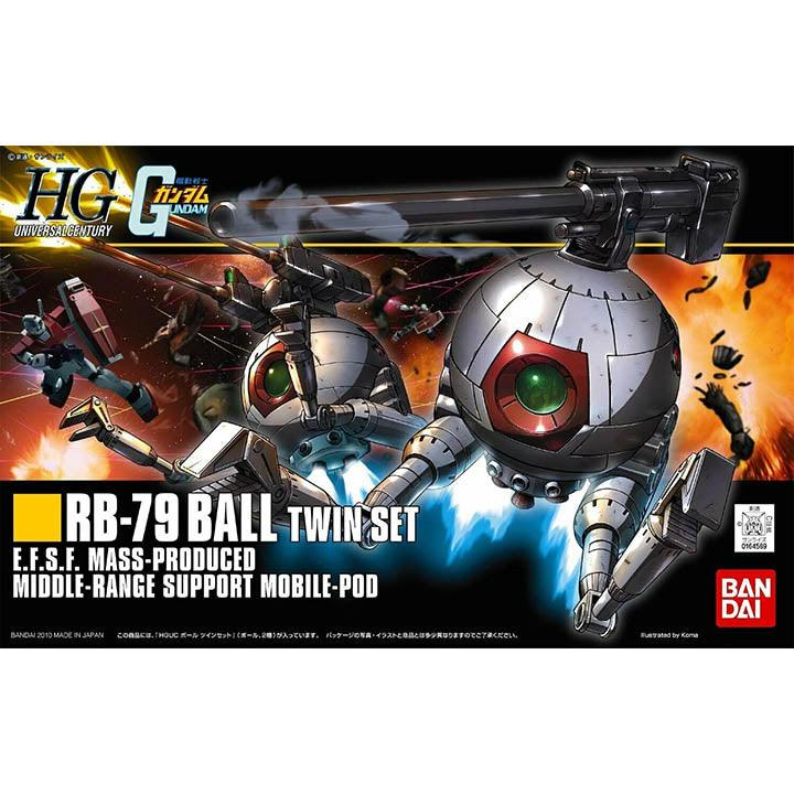 Gundam HGUC RB-79 Ball Twin Set
