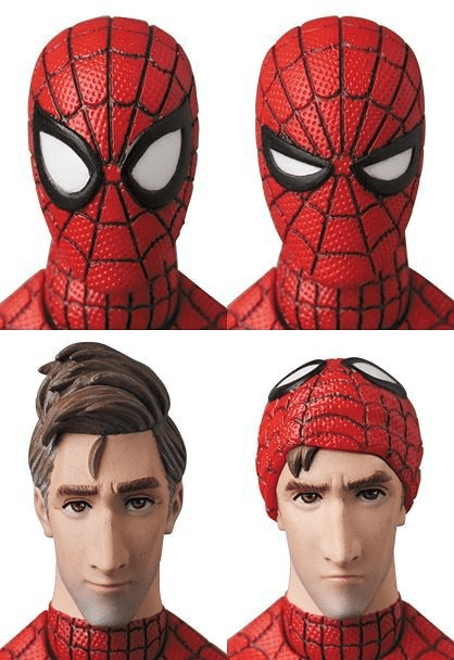 Spider-Man (Peter B. Parker) (Into the Spider-Verse Ver.) Mafex