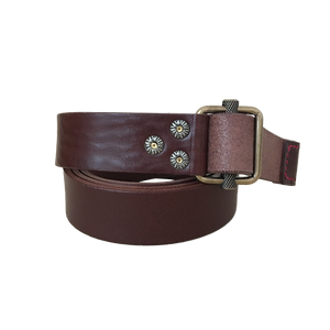 WABU ETRUSCO BELT - BROWN