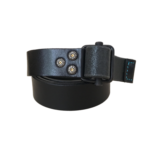 WABU ETRUSCO BELT - BLACK