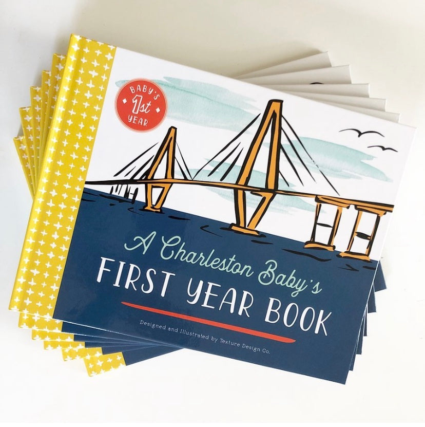 Keepsake Book - A Charleston Baby's First Year