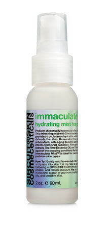 IMMACULATE MIST + hydrating mist for problem skin