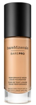BarePro Performance Wear Liquid Foundation (#12)