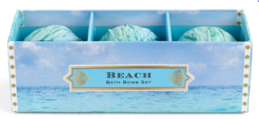 Beach Bath Bomb Set