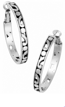 Load image into Gallery viewer, Contempo Medium Hoop Earrings