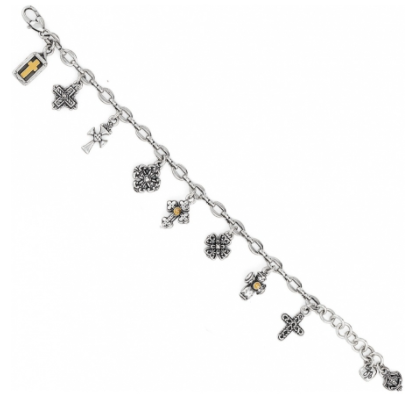 Eternity Cross Bracelet