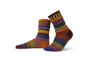 Fall Foliage Crew Adult Socks