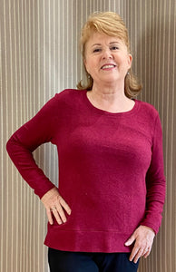 Long Sleeve Top without Pockets