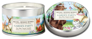 Garden Party Soy Wax Travel Candle