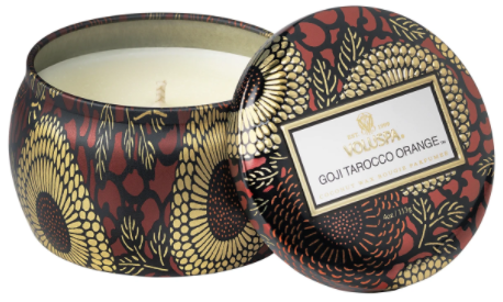Goji Tarocco Orange Petite Tin Candle