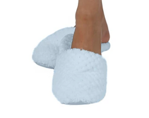 Honeycomb Fleece Slippers
