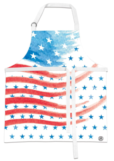 Red White & Blue Apron