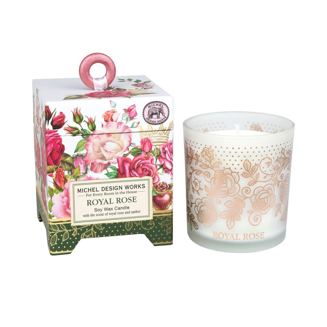 Royal Rose Soy Wax Candle