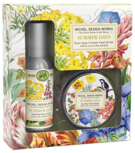 Summer Days Room Spray & Candle Travel Gift Set