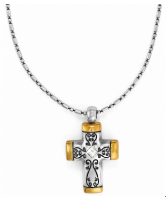 Venezia Petite Cross Necklace