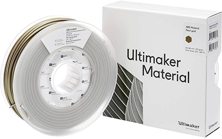 Filamento Ultimaker ABS M2560 Pearl Gold - 2.85mm -  750 g
