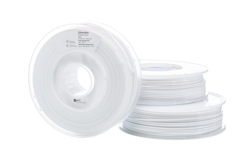 Filamento Ultimaker PC Blanco - 2.85mm - 750 g