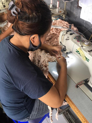 clothes in production
