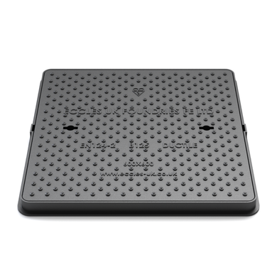 SOLID TOP MANHOLE COVER 600 X 450 X 42MM B125 - Plastechtitan