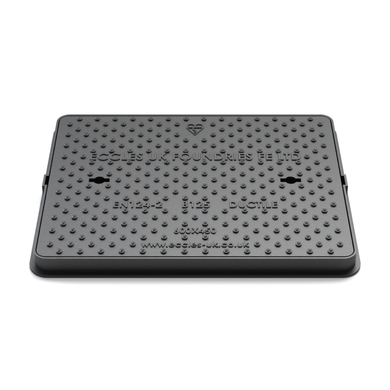 SOLID TOP MANHOLE COVER 600 X 600 X 42MM B125 - Plastechtitan