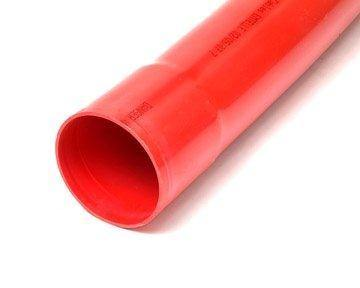 125MM RED DUCT CONNECTOR - Plastechtitan