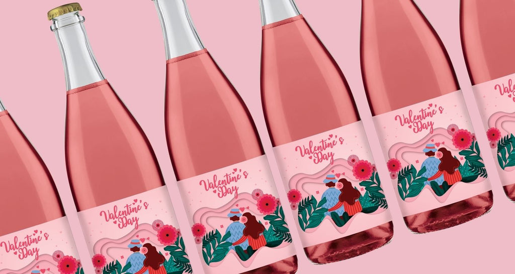 Celebrate Valentine's Day with Personalised Wine!