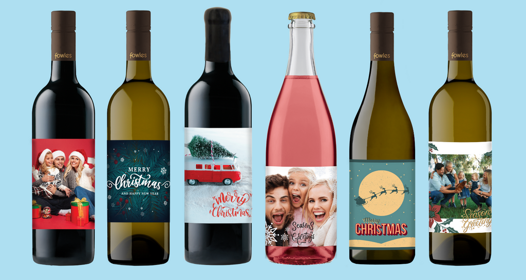 Personalised Wine for Christmas? Yes Please!