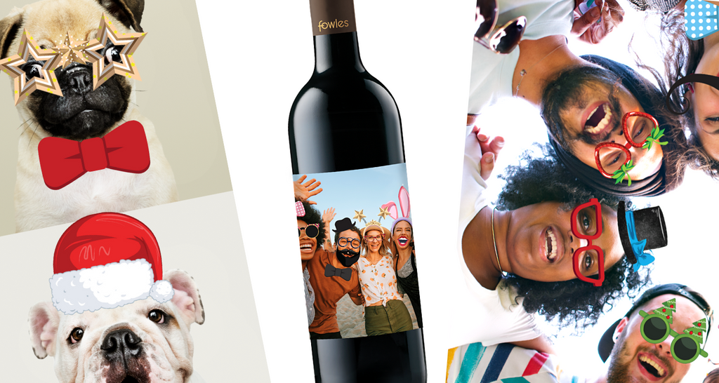 Toast your Besties with a Virtual Photo Booth Vino Label!