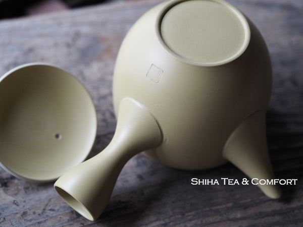 Tokoname Yellow Clay Teapot Set 常滑黄泥
