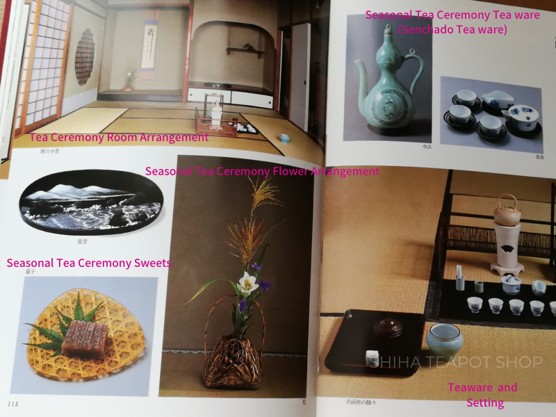 [Book] Sencha Ceremony Tea Table Design Used